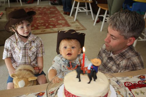 """Singing """"Happy Birthday"""""""