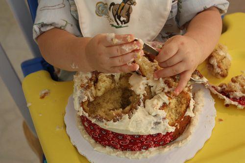 Eaten cake