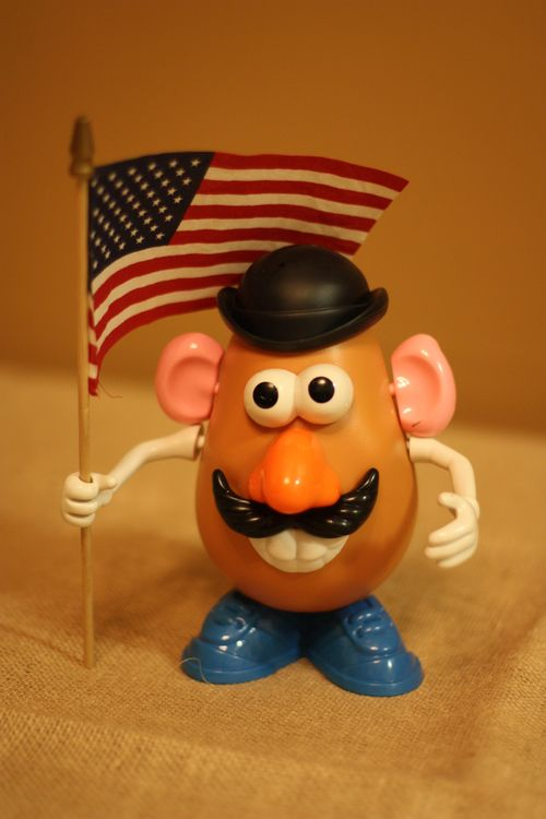Patriotic Mr. Potato Head