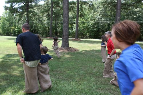 Potato Sack Race