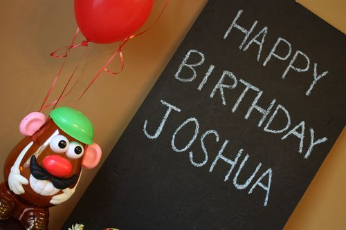 Happy Birthday Joshua