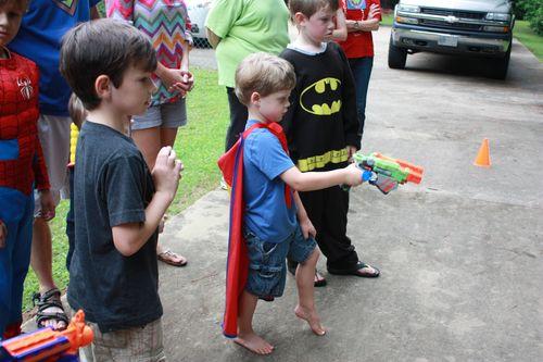 Shooting villains