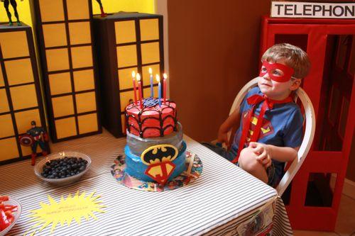 The Birthday Superhero