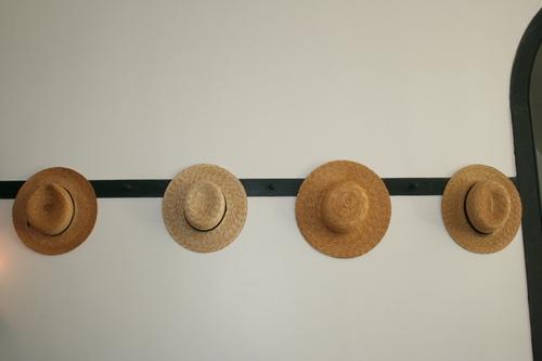 Shaker men's hats