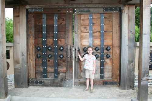 Entrance to Japanese Gardens (Yuko-En on the Elkhorn)