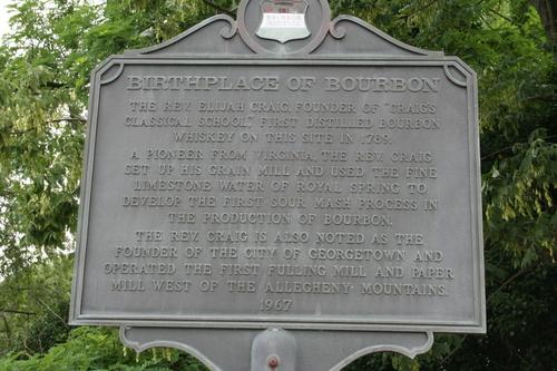 Birthplace of Bourbon