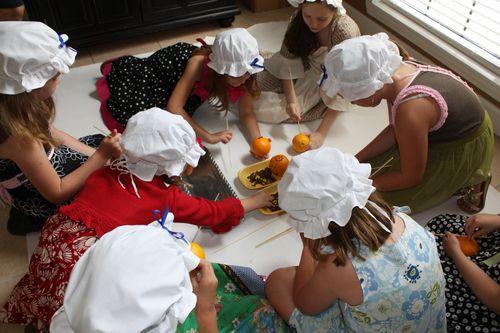 Making Pomanders
