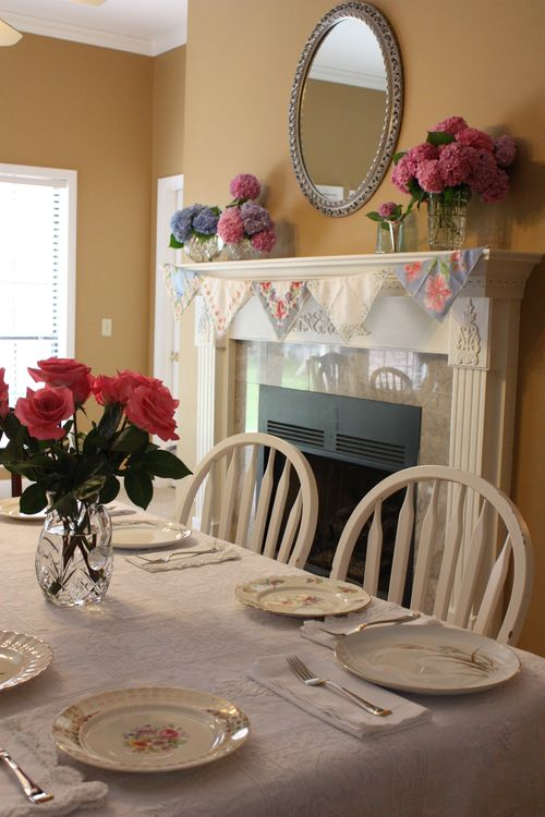 Table and Mantle