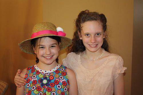 Olivia and friend