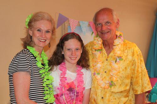 Olivia with Grandma and Granddad