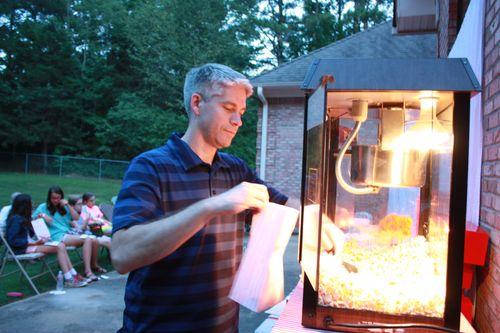 The popcorn chef
