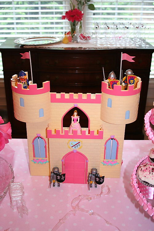 Castle on table