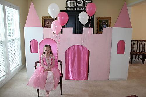 Princess Olivia & castle