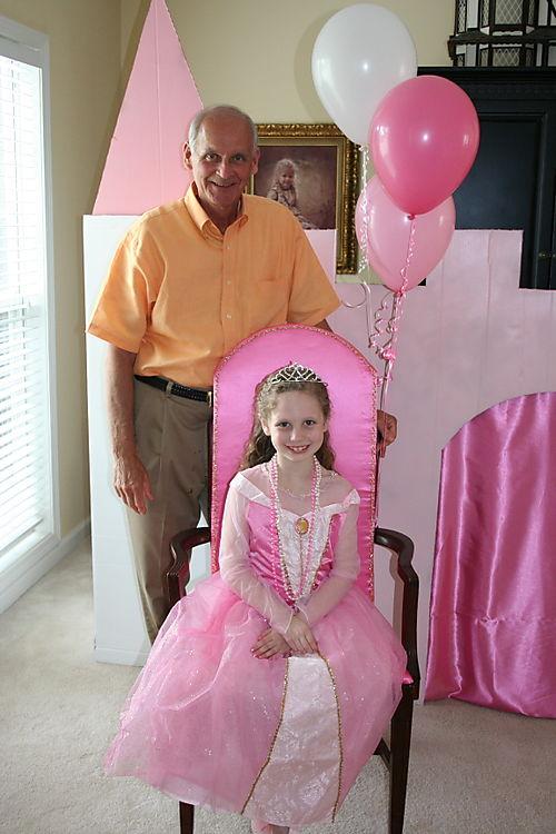 Olivia & Granddad