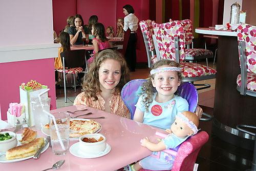 Birthday Lunch at American Girl