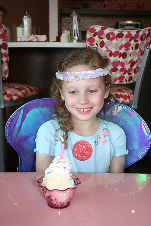 Birthday Ice Cream Sundae