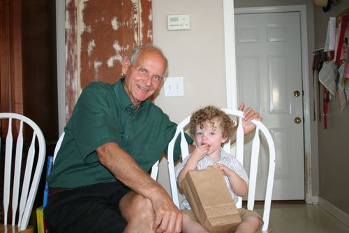 Isaac and Granddad