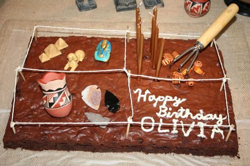Archaeological Cake