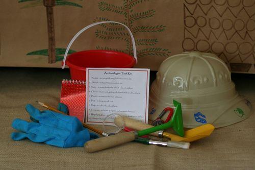 Archaeologist Tool Kit