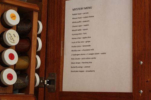 Mystery Menu Key
