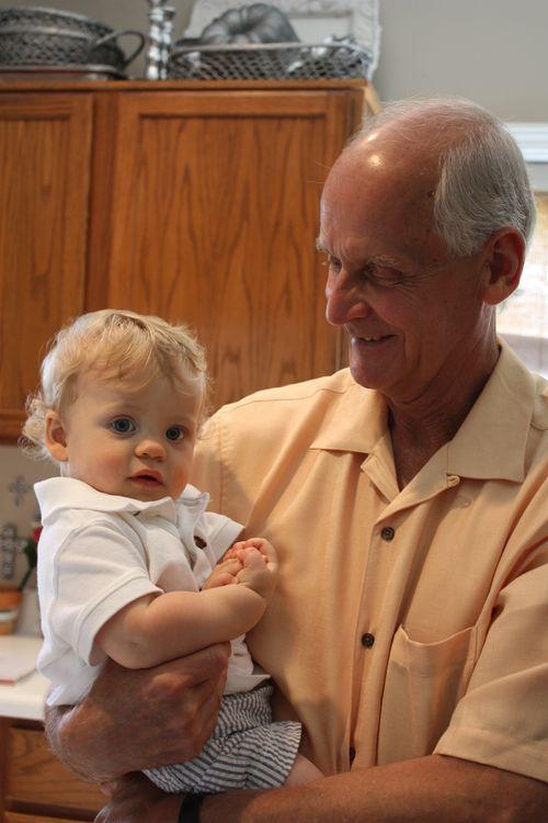 Joshua & Granddad